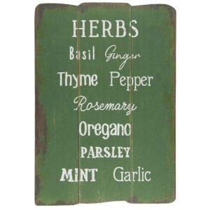 Holzschild-Herbs-IB-3