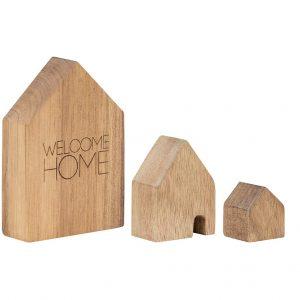 Holzhäuser Set