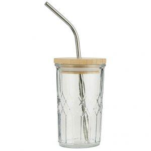 Glasbecher-mit-Holzdeckel